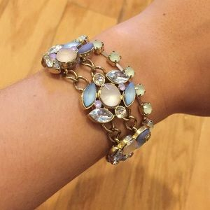 NWOT Juicy Couture Pastel Jeweled Bracelet